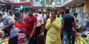 SafeValue must use [property]=binding: পূর্বস্থলী দক্ষিন বিধানসভা কেন্দ্রের সমুদ্রগড়ে তাঁত কাপড়ের হাটে ভোট প্রচারে তৃণমূল প্রার্থী তথা মন্ত্রী স্বপন দেবনাথ<br /> &nbsp; (see http://g.co/ng/security#xss)