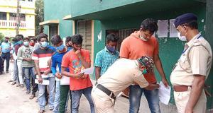 SafeValue must use [property]=binding: পূর্ব মেদিনীপুরে পুলিসের কনস্টেবল পদের পরীক্ষায় কড়া নজরদারি (see http://g.co/ng/security#xss)
